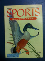 1954 Sports Illustrated November 15 Spoonbill Duck Excellent