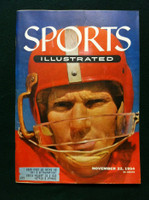 1954 Sports Illustrated November 22 Y.A. Tittle Very Good Severe scratch on cover, otherwise Excellent, contents fine