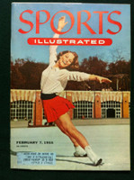 1955 Sports Illustrated February 7 Carol Heiss Near-Mint