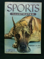 1955 Sports Illustrated February 14 Westminster Dog Show Excellent to Mint