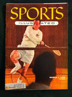 1955 Sports Illustrated March 7 Badminton (ML) Very Good