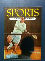1955 Sports Illustrated March 7 Badminton Excellent