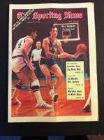 1970 Sporting News January 10 Bill Bradley Excellent to Mint lt. center fold from mailbox, otherwise sharp