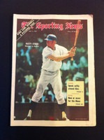 1970 Sporting News May 2 Rusty Staub Excellent to Mint lt. center fold from mailbox, otherwise sharp