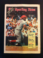 1970 Sporting News May 16 Tony Perez Excellent to Mint lt. center fold from mailbox, otherwise sharp
