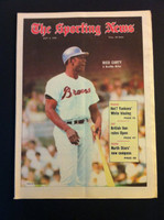 1970 Sporting News July 4 Rico Carty Excellent to Mint lt. center fold from mailbox, otherwise sharp