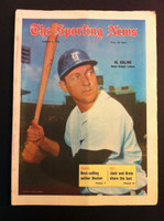 1970 Sporting News August 8 Al Kaline Excellent lt. center fold from mailbox, toning on binding