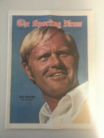 1971 Sporting News August 28 Jack Nicklaus Excellent to Mint lt. center fold from mailbox