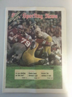 1971 Sporting News September 11 College Football Preview Excellent to Mint lt. center fold from mailbox