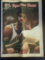 1972 Sporting News January 29 Artis Gilmore (Heavy fold from Original Mailer - o/w Sharp!) Very Good to Excellent