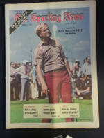 1972 Sporting News April 1 Jack Nicklaus (Heavy fold from Original Mailer) Very Good