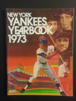 1973 Yankees Yearbook - Ruth, Gehrig, DiMaggio, Mantle Near-Mint