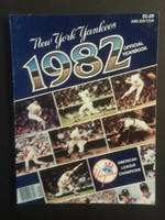 1982 Yankees Yearbook Near-Mint