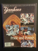 1988 Yankees Yearbook Near-Mint