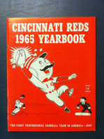 1965 Reds Yearbook (90 pg) Near-Mint