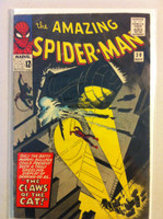 Spiderman #30 The Claws of the Cat Nov 65 Very Good Lt cover wear, surface wear; contents fine