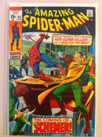 Spiderman #83 The Schemer Apr 70 Very Good to Fine Lt cover wear; contents fine
