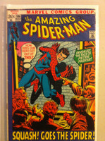 Spiderman #106 Squash Goes the Spider Mar 72 Very Good Sl wear on cover; contents fine