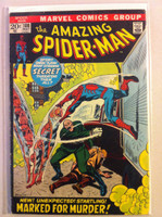 Spiderman #108 Marked for Murder May 72 Good to Very Good Wear along binding, surface wear; contents fine