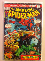 Spiderman #132 The Molten Man May 74 Very Good to Fine Sl wear on cover; contents fine