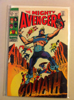 The Avengers #63 Gloaith Apr 69 (The Mighty Avengers) Very Good Lt wear on cover, binding; contents fine