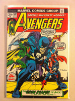 The Avengers #107 The Grim Reaper Jan 73 Very Good Lt cover wear, creasing; contents fine