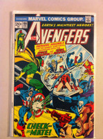 The Avengers #108 Check and Mate Feb 73 Very Good Lt cover wear, creasing; contents fine