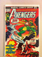 The Avengers #116 Silver Surfer Oct 73 Very Good Lt cover wear, creasing; contents fine