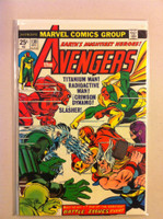 The Avengers #130 Battle Issue Dec 74 Very Good Lt cover wear, creasing; contents fine