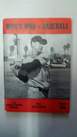 1943 Who's Who in Baseball Ted Williams Excellent [Sl wear on cover; contents very clean]