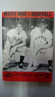 1948 Who's Who in Baseball Ralph Kiner, Johnny Mize Very Good to Excellent [Very minor wear, crease on cover; contents very clean]