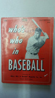 1956 Who's Who in Baseball Duke Snider Very Good to Excellent [Very minor wear, ink stamp on cover; contents very clean]