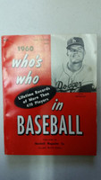 1960 Who's Who in Baseball Don Drysdale (Back Cover: Nellie Fox photo) Very Good to Excellent [Sl wear on both covers; contents fine]