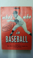 1962 Who's Who in Baseball Whitey Ford (Back Cover: Roberto Clemente photo) Very Good to Excellent [Wear on both covers; contents fine]