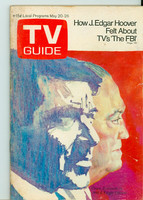 1972 TV Guide May 20 FBI Eastern Washington edition Very Good to Excellent - No Mailing Label  [Wear on cover, sl tear; contents fine]