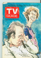 1972 TV Guide May 27 All in the Family Montana edition Fair to Good - No Mailing Label  [Loose at staples, excessive creasing; contents fine]