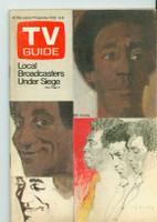 1973 TV Guide Feb 3 Bill Cosby Eastern Illinois edition Excellent - No Mailing Label  [lt wear and scuffing on cover, contents fine]