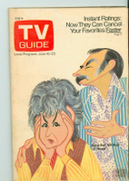 1973 TV Guide June 16 Maude Cincinnati-Dayton edition Very Good to Excellent - No Mailing Label  [Lt wear on cover, contents fine]