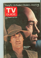 1973 TV Guide June 23 Kung Fu Eastern New England edition Excellent to Mint - No Mailing Label  [Very lt wear on cover, ow very clean]