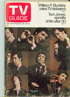 1970 TV Guide Jan 24 Tom Jones North Carolina edition Very Good - No Mailing Label  [Heavy cover wear, scuffing; contents fine]