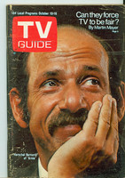 1970 TV Guide Oct 10 Arnie Eastern Illinois edition Very Good to Excellent - No Mailing Label  [Wear on cover, creasing; contents fine]