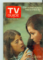 1971 TV Guide May 1 Mary Tyler Moore Montana edition Fair to Good - No Mailing Label  [Wear, scuffing and creasing on both covers; contents fine]