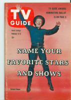 1960 TV Guide Feb 6 Have Gun Will Travel Philadelphia edition Excellent to Mint - No Mailing Label  [Very lt wear on cover, ow very clean]