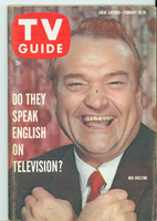 1960 TV Guide Feb 20 Red Skelton Southern Ohio edition Excellent to Mint - No Mailing Label  [Lt scuffing along binding, ow clean]