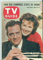 1960 TV Guide Mar 19 Perry Mason Indiana edition Very Good to Excellent  [Lt wear on cover, label removed; contents fine]