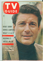 1960 TV Guide Apr 9 77 Sunset Strip Southern Ohio edition Excellent - No Mailing Label  [Sl bend along binding, ow Very Clean; contents fine]