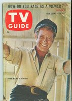 1960 TV Guide Jun 4 Riverboat Chicago edition Fair to Good - No Mailing Label  [Tape on cover, heavy creasing; contents fine]
