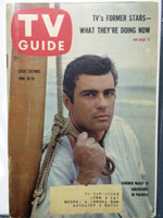 1960 TV Guide Jun 18 Adventures in Paradise Pittsburgh edition Excellent  [Lt wear on cover, sl wear on one staple, ow clean]