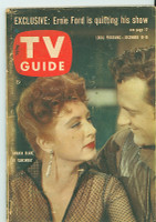 1960 TV Guide Dec 10 Gunsmoke Nebraska edition Very Good - No Mailing Label  [Heavy wear on cover, scuffing and creasing; contents fine]