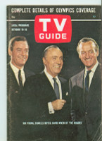 1964 TV Guide Oct 10 The Rogues Colorado edition Very Good to Excellent - No Mailing Label  [Lt wear on cover; ow clean]